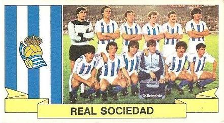 Liga 85-86. Real Sociedad. Ediciones Este.