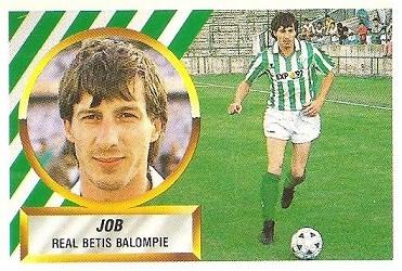 Liga 88-89. Job (Real Betis). Ediciones Este.