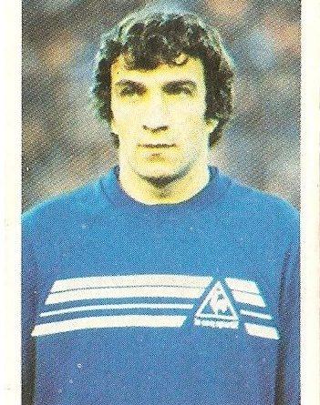 Eurocopa 1984. Augustin (Rumanía) Editorial Fans Colección.