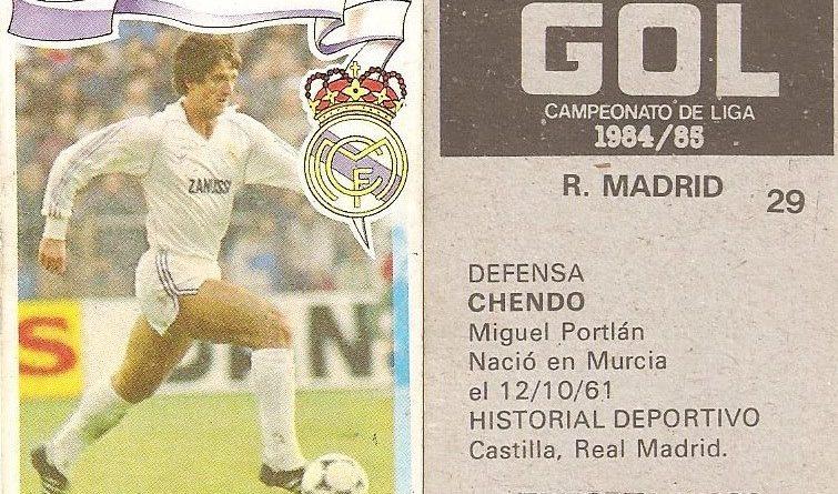 Gol. Campeonato de Liga 1984-85. Editorial Maga.