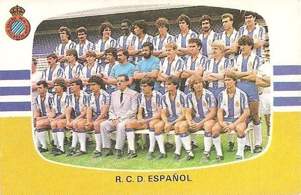 Liga 84-85. Cromos Cano.