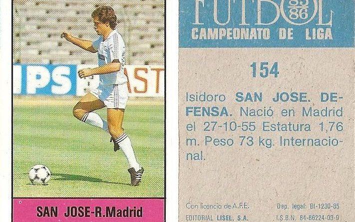 Fútbol 85-86. Campeonato de Liga. Editorial.