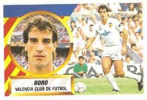 Liga 88-89. Voro (Valencia C.F.). Ediciones Este.