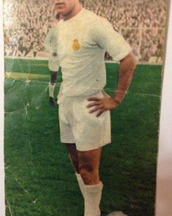 Campeonatos Nacionales Fútbol 1970. Liga 1969-70. Amancio (Real Madrid). Edtorial Ruiz Romero. 📸 Felipe Castañeda.