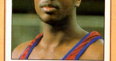 Basket 90 ACB. Audie Norris (F.C. Barcelona). Ediciones Panini. 📸 Grupo de Facebook Nuestros álbumes de cromos.