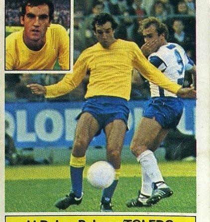 Liga 81-82. Toledo (U.D. Las Palmas). Ediciones Este. 📸 Grupo de Facebook Nuestros álbumes de cromos.