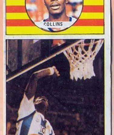 Campeonato de Liga Baloncesto 86-87. Collins (RCD Español) Editorial Merchante. 📸 Grupo de Facebook Nuestros álbumes de cromos.