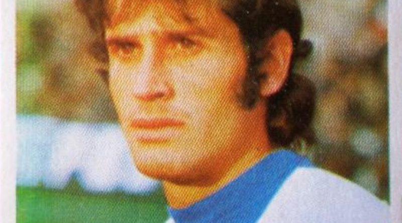 Liga 1975-76. José Antonio (Hércules C.F.) Ediciones Fini. 📸: Grupo de Facebook Nuestros álbumes de cromos.