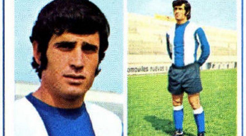 Liga 1976-77. José Antonio (Hércules C.F.) Editorial Fher. 📸: Grupo de Facebook Nuestros álbumes de cromos.