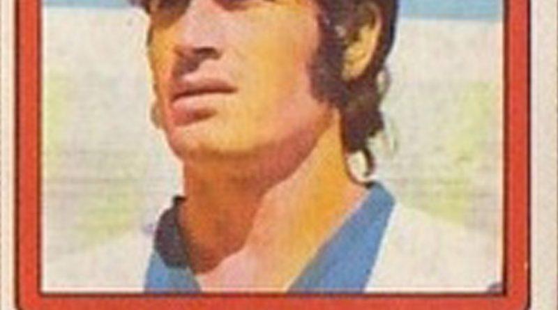 Liga 1976-77. José Antonio (Hércules C.F.) Ediciones Vulcano. 📸: Grupo de Facebook Nuestros álbumes de cromos.