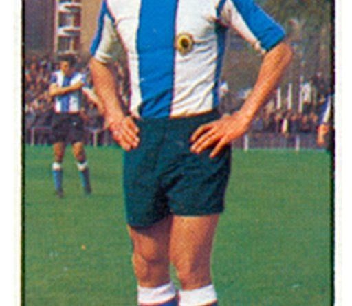 Liga 1977-78. José Antonio (Hércules C.F.) Ediciones Este. 📸: Grupo de Facebook Nuestros álbumes de cromos.