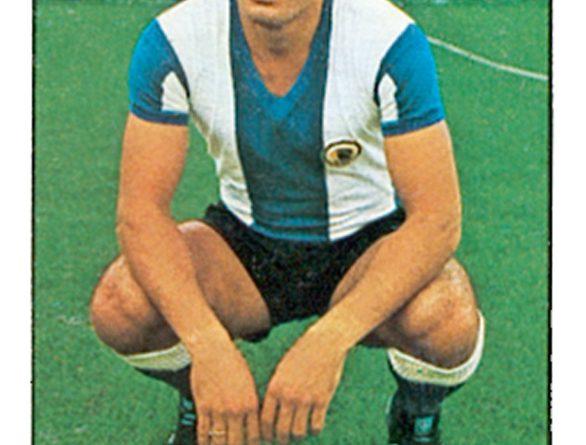 Liga 1978-79. José Antonio (Hércules C.F.) Ediciones Este. 📸: Grupo de Facebook Nuestros álbumes de cromos.