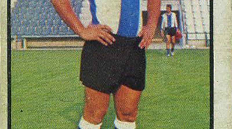 Liga 1979-80. José Antonio (Hércules C.F.). Ediciones Este. 📸: Grupo de Facebook Nuestros álbumes de cromos.