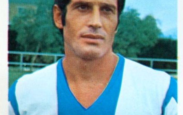 Liga 1980-81. José Antonio (Hércules C.F.) Editorial Cromo Crom. 📸: Grupo de Facebook Nuestros álbumes de cromos.