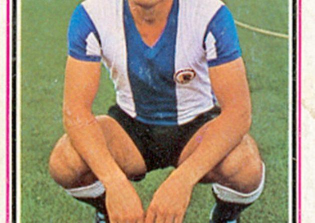 Liga 1980-81. José Antonio (Hércules C.F.) Ediciones Este. 📸: Grupo de Facebook Nuestros álbumes de cromos.