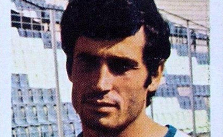 Liga 1980-81. José Antonio (Hércules C.F.) Editorial Fher. 📸: Grupo de Facebook Nuestros álbumes de cromos.