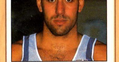 Basket 90 ACB. Joe Arlauckas (Caja de Ronda). Ediciones Panini. 📸 Grupo de Facebook Nuestros álbumes de cromos