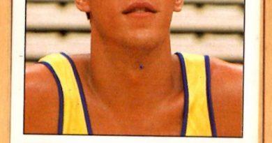 Basket 90 ACB. Santi Abad (Grupo IFA). Ediciones Panini. 📸 Grupo de Facebook Nuestros álbumes de cromos.