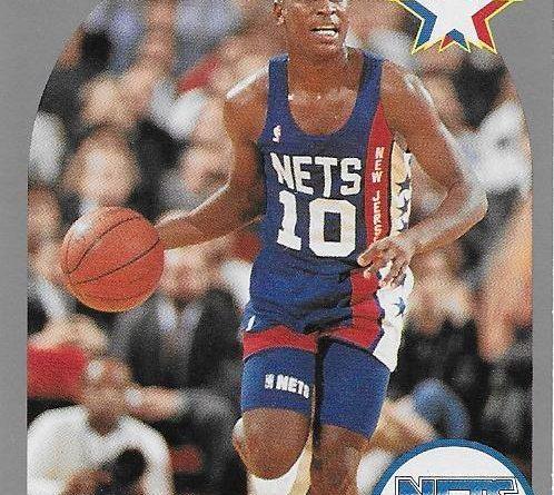 Basketball Card 1989 -1990. Mookie Blaylock (New Jersey Nets). NBA Hoops. 📸: Emilio Rodriguez Bravo.