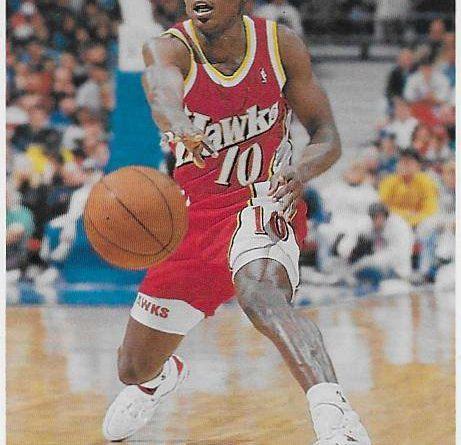 Basketball Card NBA 1991 - 1992. Mookie Blaylock (Atlanta Hawks). Upper Deck. 📸: Emilio Rodríguez Bravo.