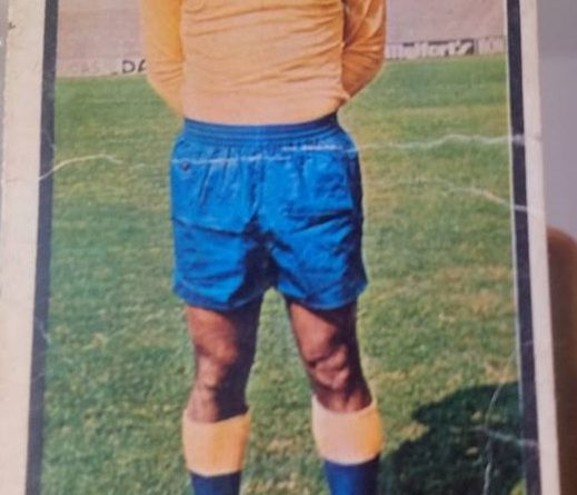 Campeonato Nacional de Liga 1973-74 Gilberto II (UD Las Palmas). Ediciones Ruíz Romero. 📸 Carlos Javier Gonzalez.