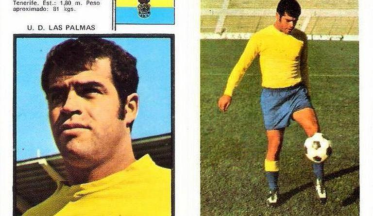 Campeonato de Liga 1971-72 Gilberto II (UD Las Palmas). Editorial Fher. 📸 Grupo de Facebook Nuestros álbumes de cromos.