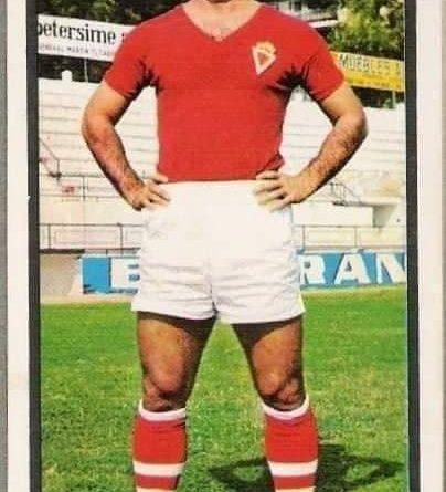 Liga 1973-74. Valenzuela (Real Murcia). Editorial Ruiz Romero. 📸 José Hernández Madrid.