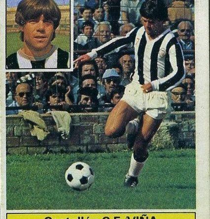 Liga 81-82. Viña (C.D. Castellón). Ediciones Este. 📸 Grupo de Facebook Nuestros álbumes de cromos.