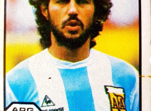 México 86. Ricardo Giusti (Argentina) Cromos Barna. 📸 Jaume Viusà.