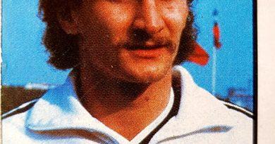 México 86. Rudi Voller (Alemania) Cromos Barna. 📸: Jaume Viusà.