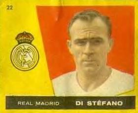 Campeones Liga 1959-60. Di Stefano (Real Madrid). Editorial Bruguera. 📸: Manuel Fernández.