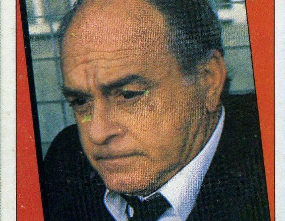 Liga 87-88. Alfredo Di Stefano (Valencia C.F.). Ediciones Este. 📸: Grupo de Facebook Nuestros álbumes de cromos.