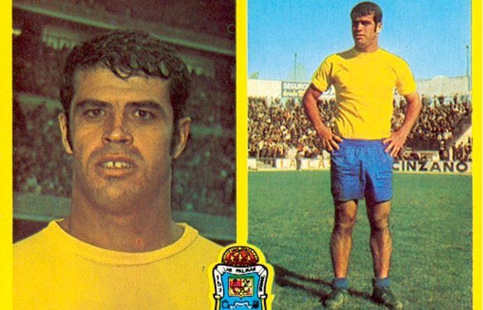 Liga 72-73. Gilberto II (UD Las Palmas). Ediciones Este. 📸: Toni Izaro.