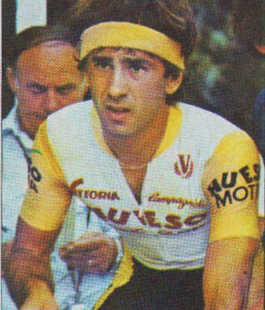 1983. Vuelta Ciclista - Ases Internacionales del Pedal. Sabino Angoitia (Zahor). (Editorial J. Merchante - Chocolates Hueso). 📸: Grupo de Facebook Nuestros álbumes de cromos.