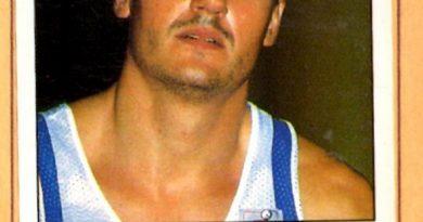 Basket 90 ACB. Luis Blanco (Caja Ronda). Ediciones Panini. 📸: Grupo de Facebook Nuestros álbumes de cromos.