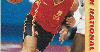 Basketball Card 1991 - 1992. Tomás Jofresa (España). Upper Deck. 📸: Emilio Rodríguez Bravo.