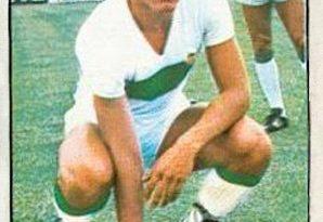 Campeonato de liga 1976-77. Marcelo Trobbiani (Elche C.F.). Ediciones Este. 📸: Grupo de Facebook Nuestros álbumes de cromos.