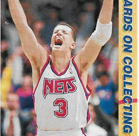 Cromos NBA 1991-1992. Drazen Petrovic (New Jersey Nets). Upper Deck. 📸: Emilio Rodriguez Bravo.