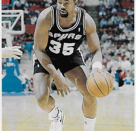Cromos NBA 1992-1993. Antoine Carr (San Antonio Spurs). Upper Deck. 📸: Emilio Rodríguez Bravo.