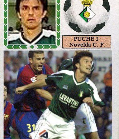 Puche I (Novelda CF.) 📸: Cromo-Montaje Grupo de Facebook Nuestros álbumes de cromos.