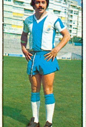 Liga 77-78. Caszely (R.C.D. Español). Ediciones Este. 📸: Toni Izaro.
