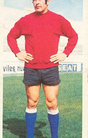 Liga 75-76. Humberto (Hércules C.F.). Ediciones Este. 📸: Toni Izaro.