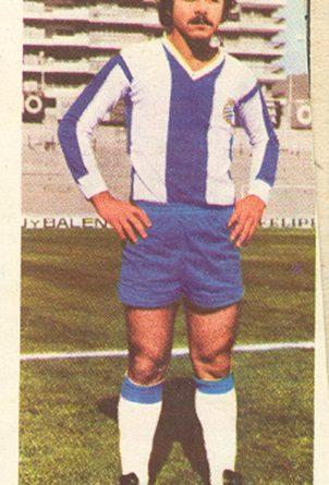 Liga 75-76. Caszely (R.C.D. Español). Ediciones Este. 📸: Toni Izaro.