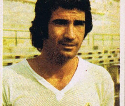 Campeonato de Liga 1975-76. Chiva (Elche C.F.). Editorial Fini. (Versión MA). 📸: Grupo de Facebook Nuestros álbumes de cromos.