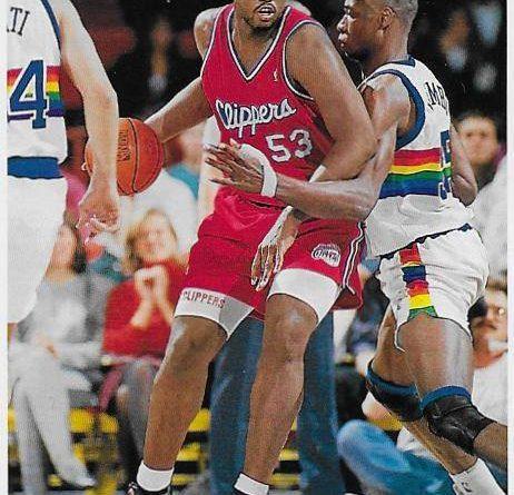 Cromos NBA 1992 - 1993. Stanley Roberts (Los Angeles Clippers). Upper Deck. 📸: Emilio Rodríguez Bravo.