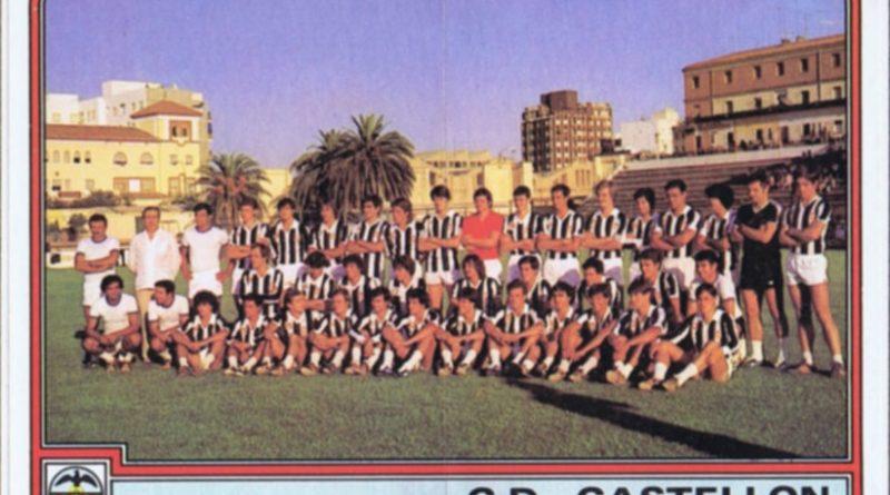Fútbol 82. Plantilla C.D. Castellón (C.D. Castellón). Ediciones Panini. Cromo Crom. 📸: Grupo de Facebook Nuestros álbumes de cromos.