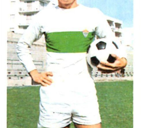 Liga 1973-74. Chiva (Elche C.F.). Ediciones Este. 📸: Grupo de Facebook Nuestros álbumes de cromos.