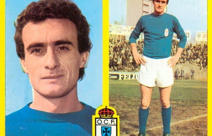 Liga 72-73. Iriarte (Real Oviedo). Ediciones Este. 📸: Toni Izaro.