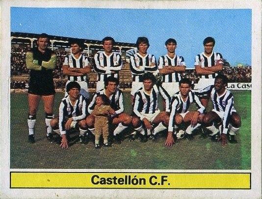 Liga 81-82. C.D. Castellón (C.D. Castellón). Ediciones Este. 📸: Grupo de Facebook Nuestros álbumes de cromos.