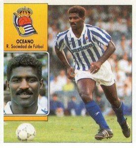 Liga 92-93. Oceano (Real Sociedad). Ediciones Este.  📸: Carlos González.